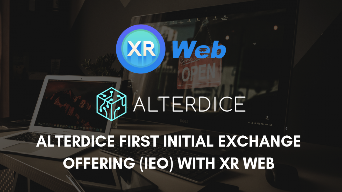 XR Web Announces Its First Initial Exchange Offering (IEO) - Alterdice