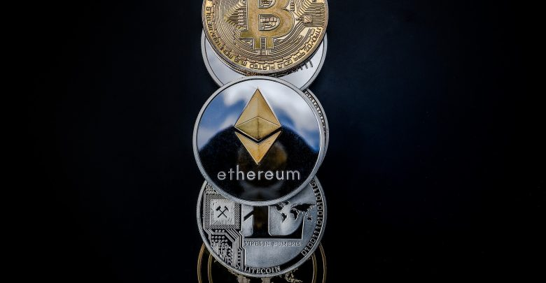 Cryptocurrencies - ETH, BTC, and XRP