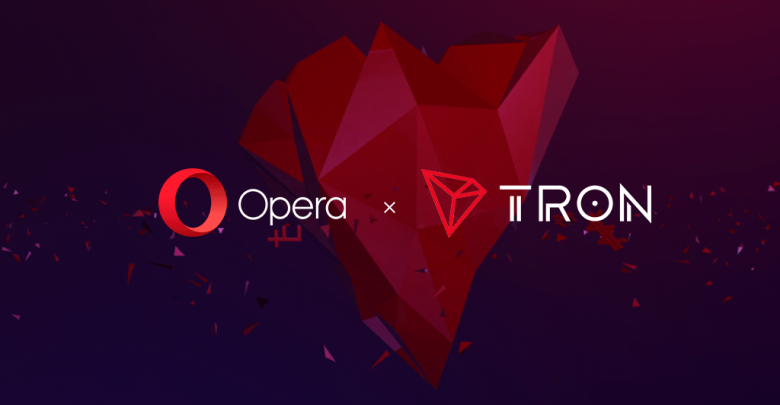 Opera support BTC and TRX