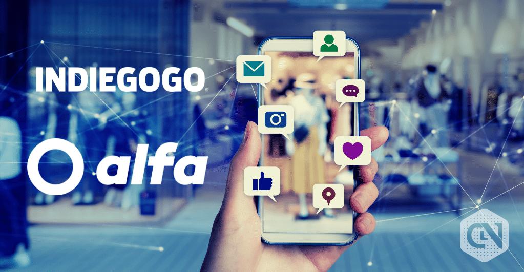 Alfa blockchain social network_digital sharing launched on Indiegogo