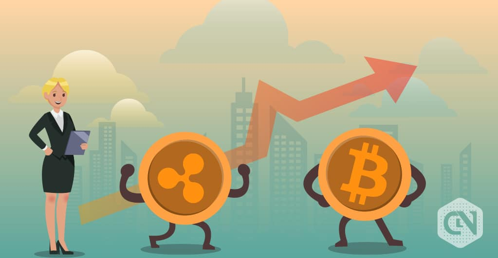 Bitcoin Vs  Ripple: BTC Touched Its First Resistance, But Ripple's