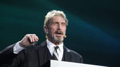 John McAfee Backs Privacy Feature of Cryptocurrencies