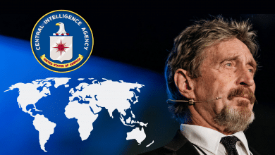 "Photo of John McAfee Shifts to New ""Safe House"""