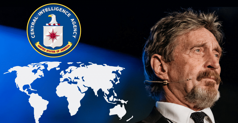 John McAfee Shifts to New Safe Location