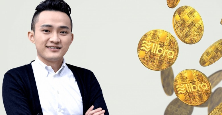 Justin Sun Backs Facebook Libra