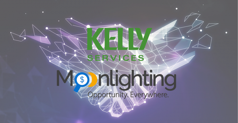 Kelly Services Partner with Moonlighting