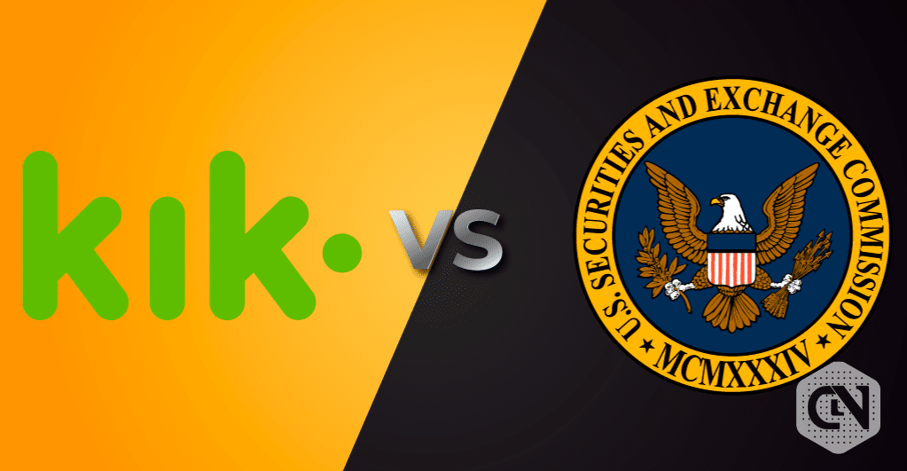 What's Cooking Between US-SEC Versus Kik