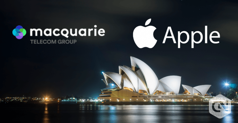 Photo of Apple Mobile Devices to be Supplied to Australian Businesses by Macquarie