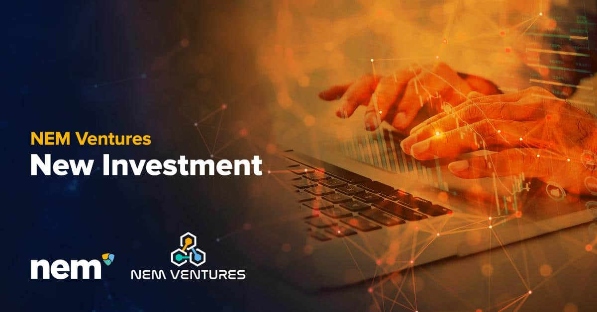 NEM Ventures Announces its First Investment in IoDLT