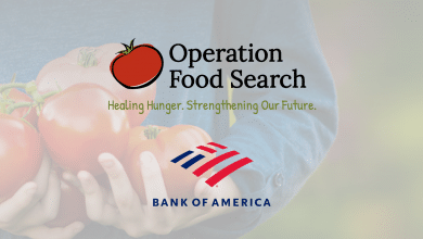 Operation Food Search Gets $30,000 Donation from Bank of America