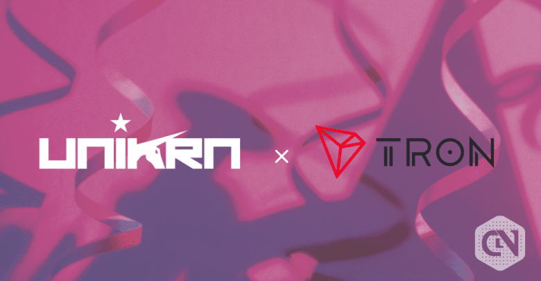 TRON joins Unikrn Wallet 2.0