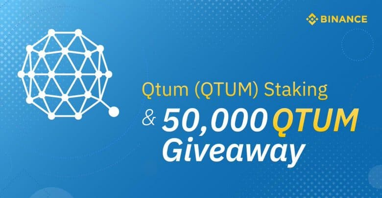 50,000 QTUM Staking Airdrop Launched by Binance