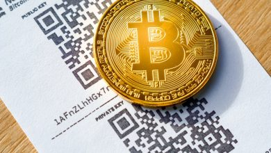 Bitcoin and QR code