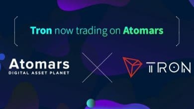 Atomars Announces Listing of Tron; Could Further Propel Adoption of TRX