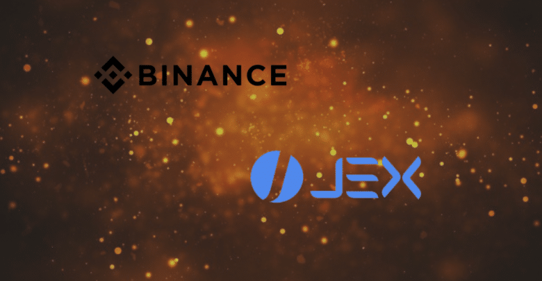 Binance is Launching Token Airdrop as a Part of JEX Acquisition
