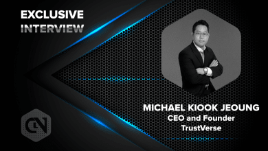 Photo of TrustVerse's CEO and Founder, Michael Kiook Jeoung in an Exclusive Interview with CryptoNewsZ