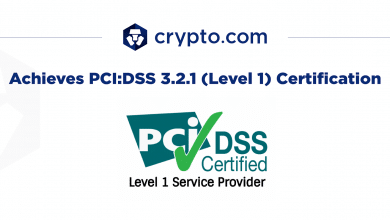 Photo of Crypto.com Becomes First Crypto Company To Hold Both ISO27001 and PCI:DSS Level 1 Compliance