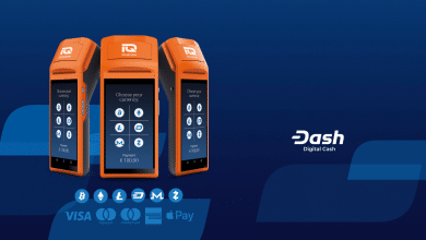 Dash Partners With IQ CashNow