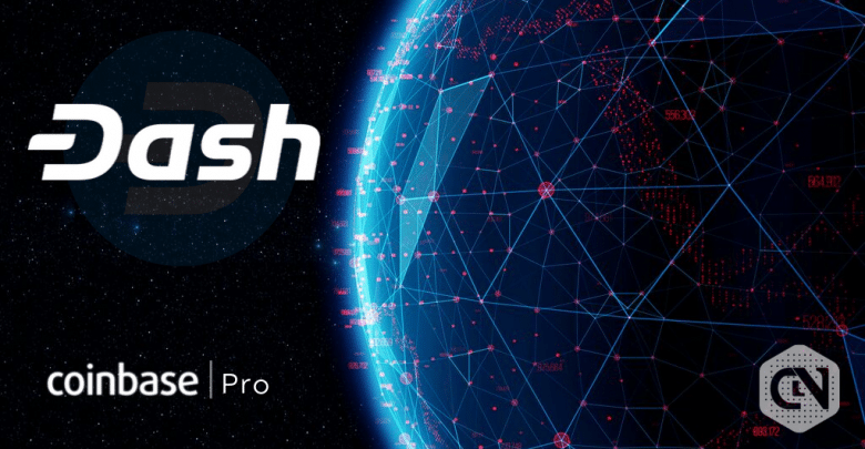 Dash is Launching on Coinbase Pro, the Major Crypto Currency Exchange on September 16th