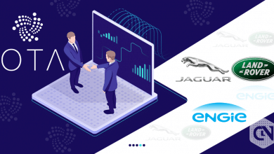 Photo of IOTA Partners with Jaguar Land Rover for Tracing the car energy with Distributed Ledger Technology