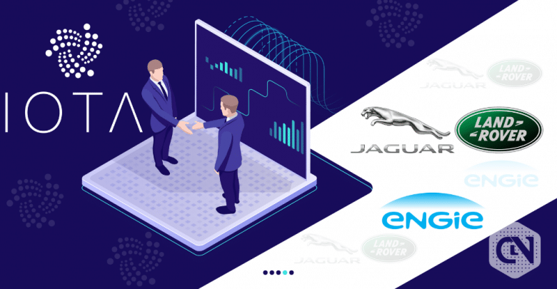 IOTA Partners with Jaguar Land Rover for Tracing the car energy with Distributed Ledger Technology