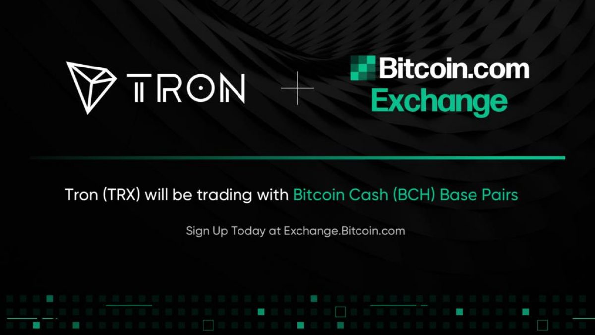 tron bitcoin exchange