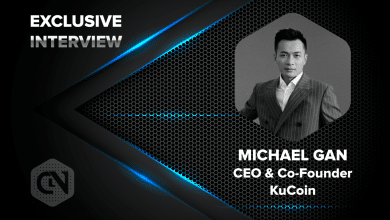 Photo of KuCoin's CEO and Co-Founder, Michael Gan in an Exclusive Interview with CryptoNewsZ
