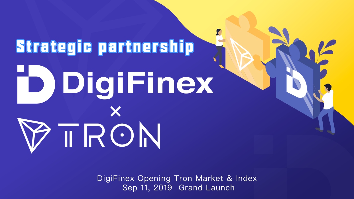 Tron (TRX) Partners with DigiFinex (DFT) to Construct