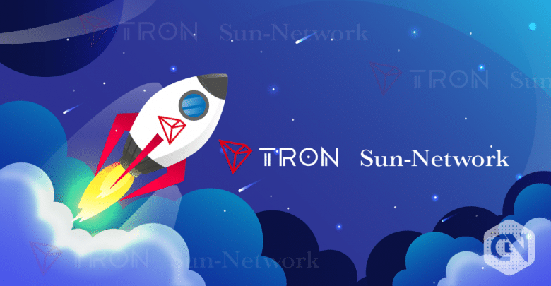 TRON Officially Launches First Sun Network Code Base Version