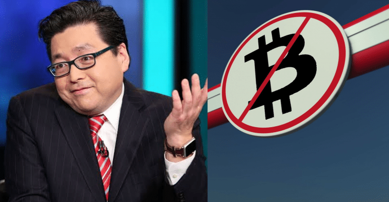 Tom Lee Bitcoin can be Banned from US if its Price Reaches $100,000