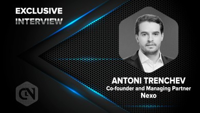 Photo of Nexo's Co-founder and Managing Partner, Antoni Trenchev in an Exclusive Interview with CryptoNewsZ