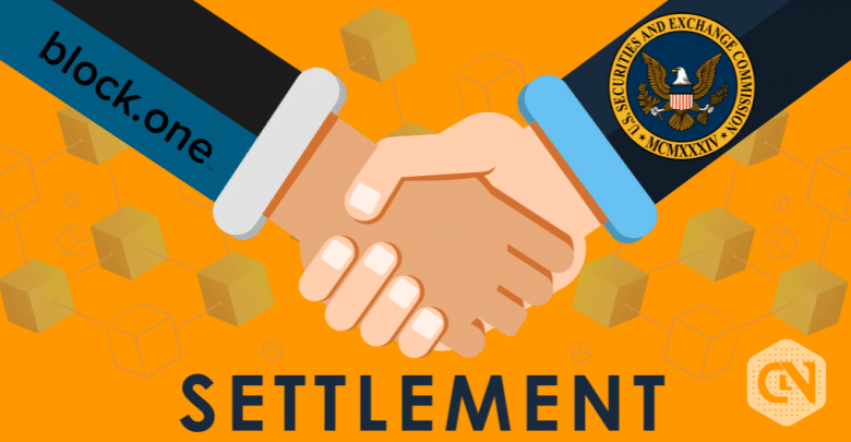 Block.one Announces Settlement with SEC