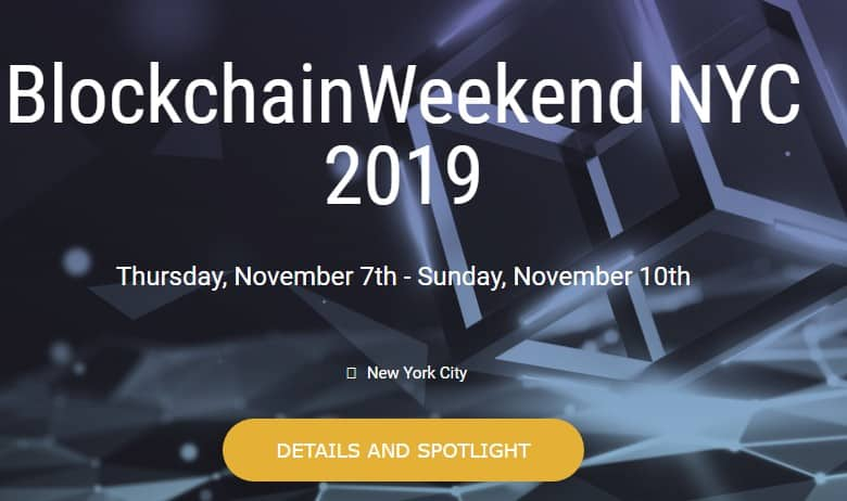 BlockchainWeekend NYC 2019