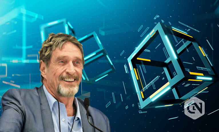 John McAfee Says Blockchain Technology is of the People and Should Remain for the People