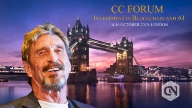 Photo of John McAfee to Attend CC Forum Investments in Blockchain and AI in London
