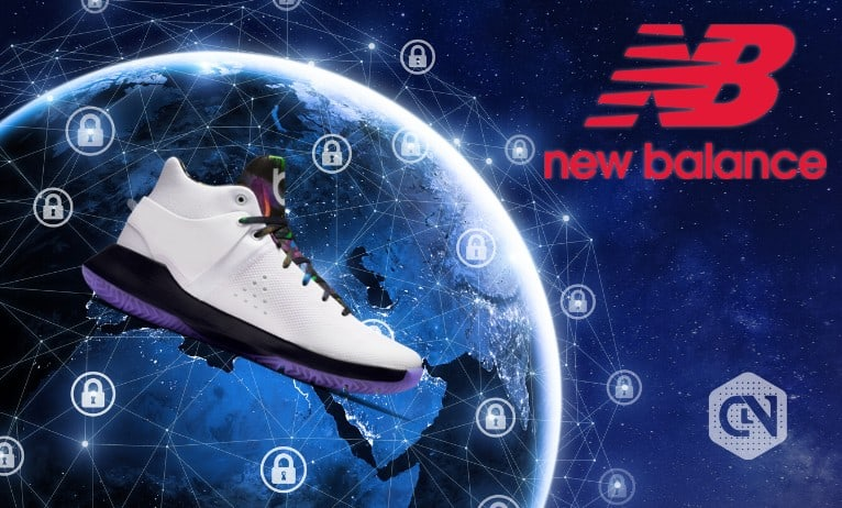 New Balance Athletics Inc. announced a pilot program to track the newest basketball shoe using a distributed ledger blockchain
