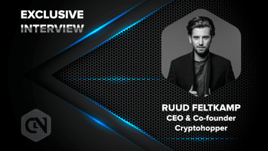 Photo of Cryptohopper's CEO and Co-founder, Ruud Feltkamp in an Exclusive Interview with CryptoNewsZ