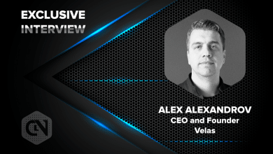 Photo of Velas' CEO and Founder Alex Alexandrov in an Exclusive Interview With CryptoNewsZ