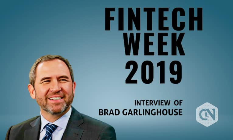 Brad Garlinghouse Speaks about Libra, Ripple, and Stablecoins at Washington DC Fintech Week