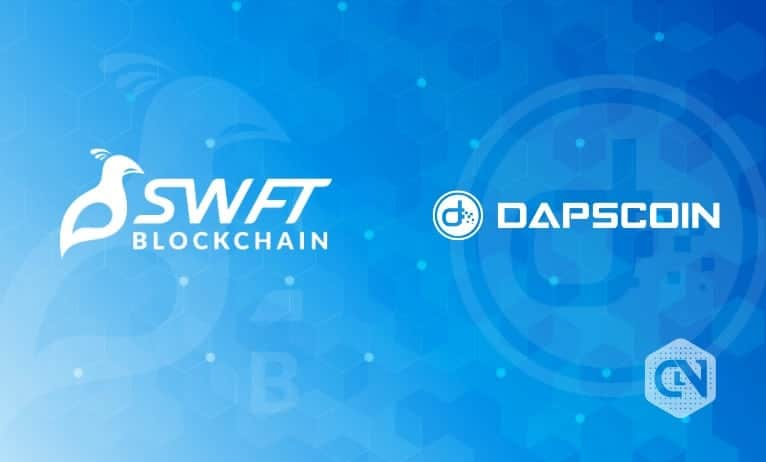 DAPSCOIN Partners With SWFT Blockchain to Provide Secure Payments