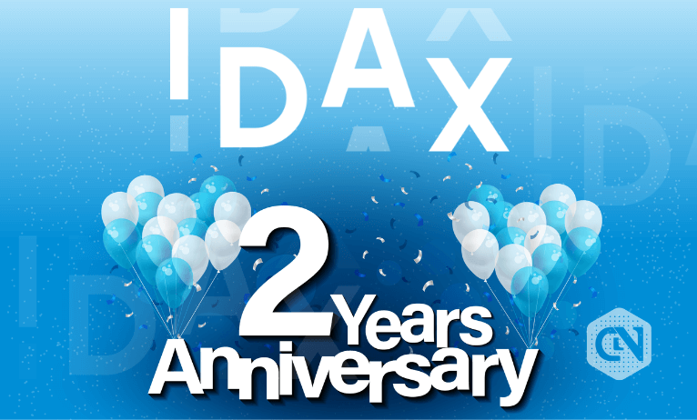 IDAX Celebrates Its 2nd Anniversary by Offering Benefits With $1,000,000 Giveaway