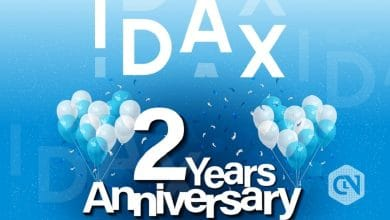 Photo of IDAX Celebrates Its 2nd Anniversary by Offering Benefits With $1,000,000 Giveaway