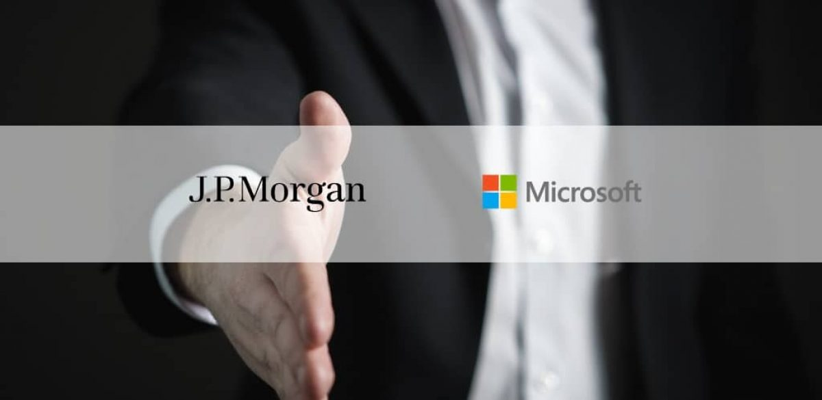 jp morgan microsoft intel investing in which cryptocurrency