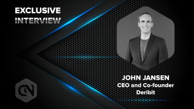 Photo of Deribit's CEO and Co-founder John Jansen Speaks Exclusively to CryptoNewsZ