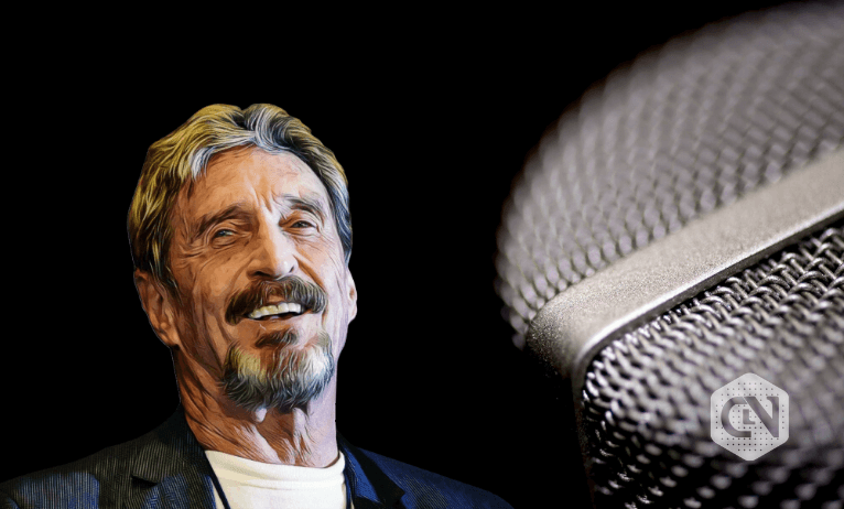 John McAfee Speaks About Crypto and Government Taxes in The Block Runner Podcast