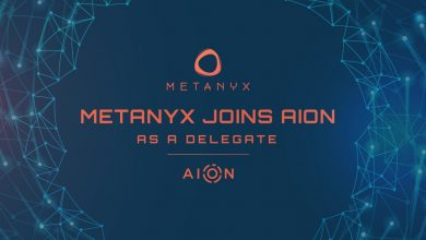 Photo of Metanyx Unites With AION Network to Provide Staking Pool