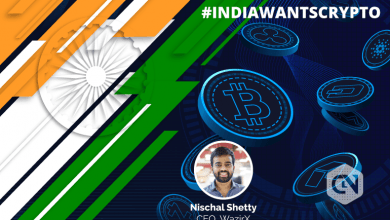 Photo of WazirX CEO Nischal Shetty Urges Indian Government to Lend Support for Crypto Industry