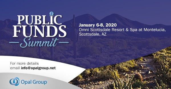 Photo of Opal Group's Public Funds Summit 2020 Will Be Held on January 6–8, 2020