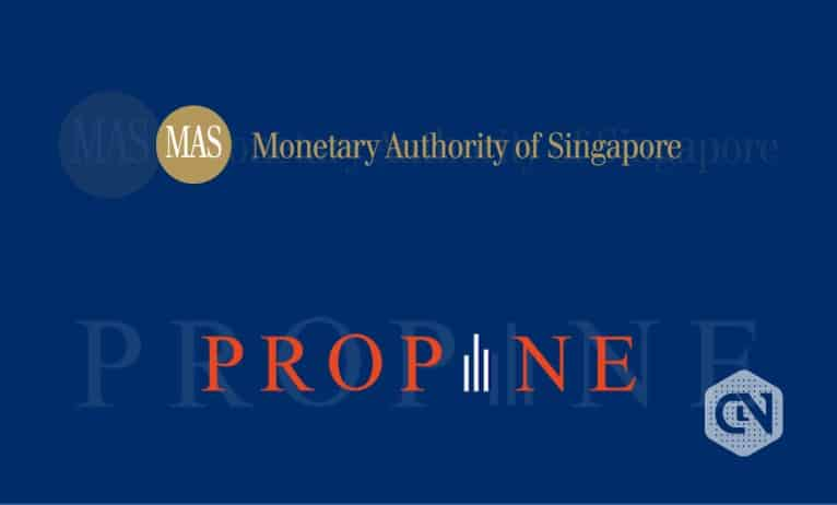 Propine Acknowledged by the Monetary Authority of Singapore's Fintech Regulatory Sandbox