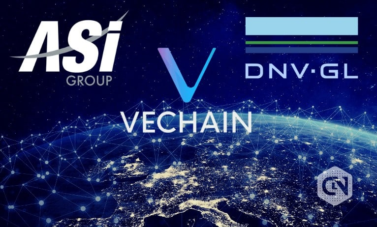 VeChain Announces Tripartite Team-up With ASI Group